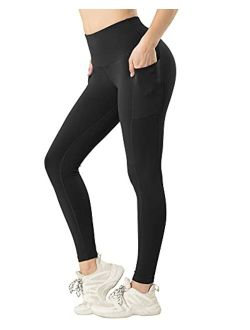 LZYVOO High Waisted Yoga Leggings with Pockets, Tummy Control Workout Pants for Women