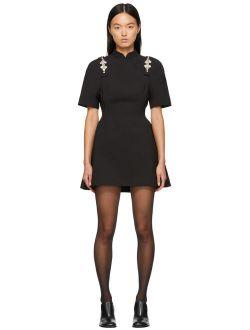 Shushu/Tong SSENSE Exclusive Black Qipao Dress