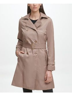 Classic Women's Cotton Trench Coat