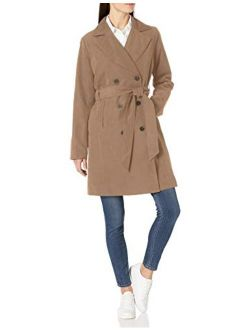 Women's Relaxed-fit Water-resistant Trench Coat