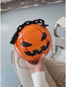 Halloween Pumpkin Design Novelty Bag