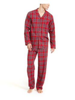 Family Pajamas Matching Men's Brinkley Plaid Family Pajama Set, Created for Macy's