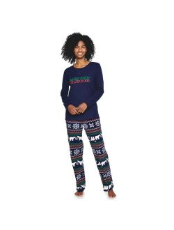 Women's Jammies For Your Families® Holly Jolly Pajama Set