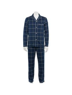 Barrow® Knit Notch-collar Pajama Set