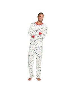 Men's LC Lauren Conrad Jammies For Your Families® Snowy Skier Pajama Set