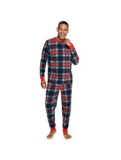 Men's Jammies For Your Families® Holly Jolly Plaid Pajama Set