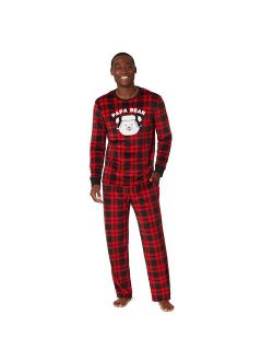 Jammies For Your Families® Cool Bear Plaid Pajama Set By Cuddl Duds®