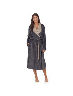 Women's Koolaburra by UGG Lightweight Plush Cascading Wrap Robe