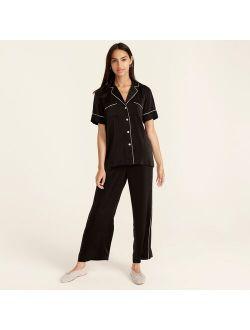 Easy-luxe eco short-sleeve pajama set