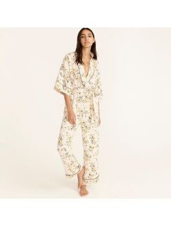 Easy-luxe eco jumpsuit in budding floral