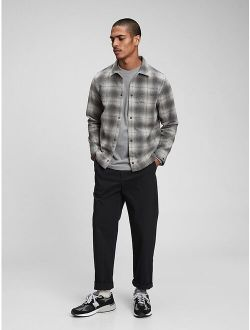 Snap-Front Shirt in Untucked Fit