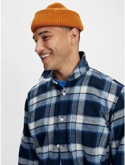 100% Organic Cotton Midweight Flannel Shirt