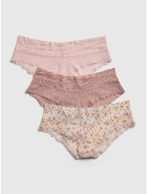 GAP Lace Cheeky (3-Pack)