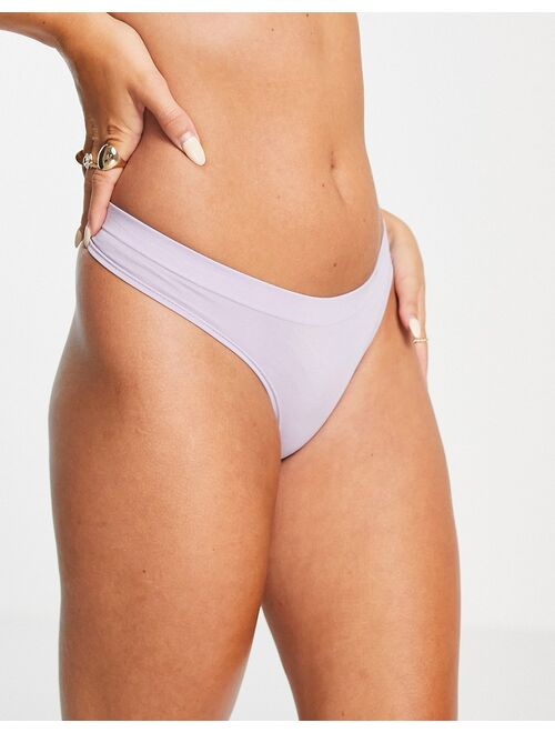 Lindex sally thong in light dusty lilac