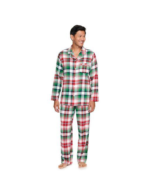 Men's Jammies For Your Families® Christmas Kitsch Plaid Pajama Set