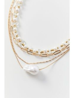 Lee Pearl Layer Necklace