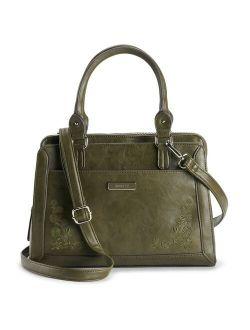 Rosetti Irene Triple-Entry Crossbody Satchel Bag