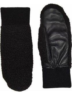Gloves Heritage Faux Sherpa Mittens Black L/xl