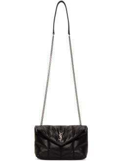 Black Puffer Toy Loulou Bag