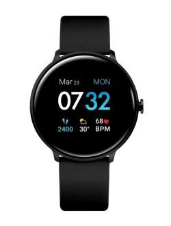 iTouch Sport 3 Unisex Touchscreen Smartwatch: Black Case with Black Strap 45mm