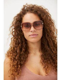 Giovanna Oversized Round Sunglasses
