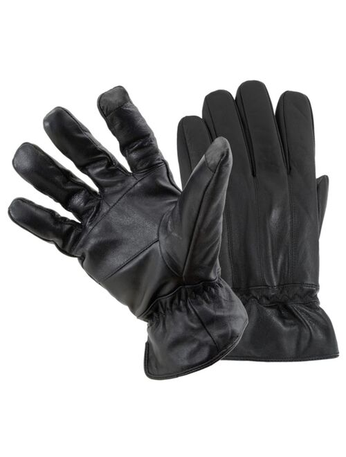 Status Men's Leather Smart Gloves