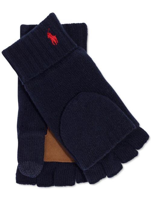 Polo Ralph Lauren Men's Merino Convertible Gloves