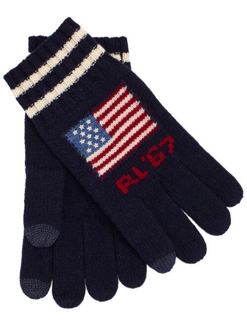 Polo Ralph Lauren Men's Iconic Flag Touch Glove