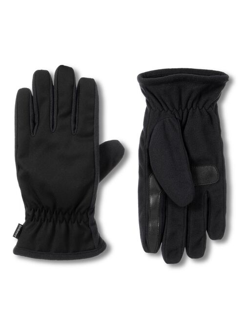Men's isotoner Lined Water Repellent Stretch Gloves