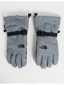 Montana Futurelight Etip gloves in gray
