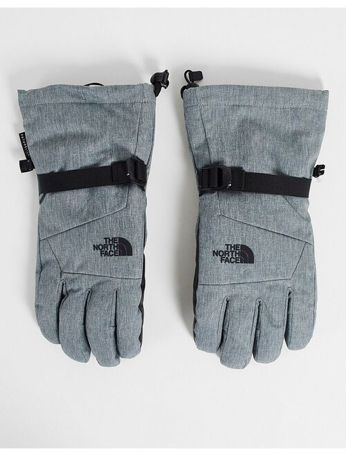 The North Face Montana Futurelight Etip gloves in gray