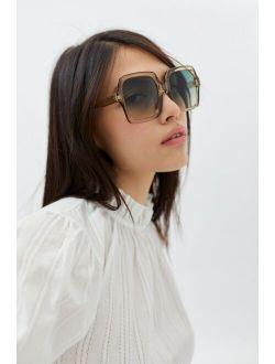 Cordelia Oversized Square Sunglasses