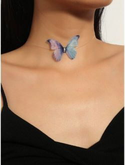 Butterfly Decor Necklace