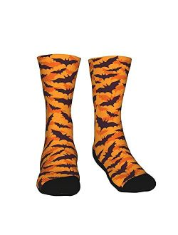 Men Women Novetly Funny Crew Cotton Athletic Socks - Halloween Thanksgiving Christmas Crazy Gift