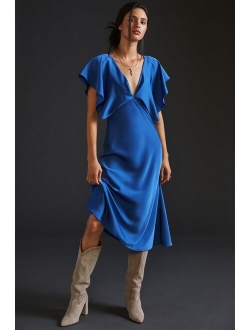 Sachin & Babi Ruffled Maxi Dress