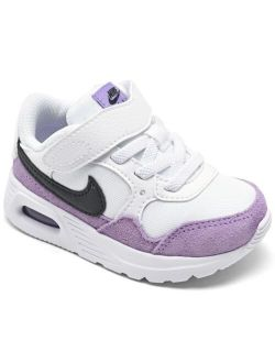 Toddler Girls Air Max SC Stay-Put Casual Sneakers from Finish Line