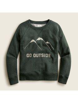 Kids' graphic sweatshirt